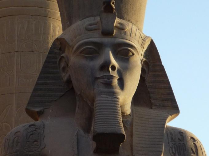 Как выглядел дворец фараона