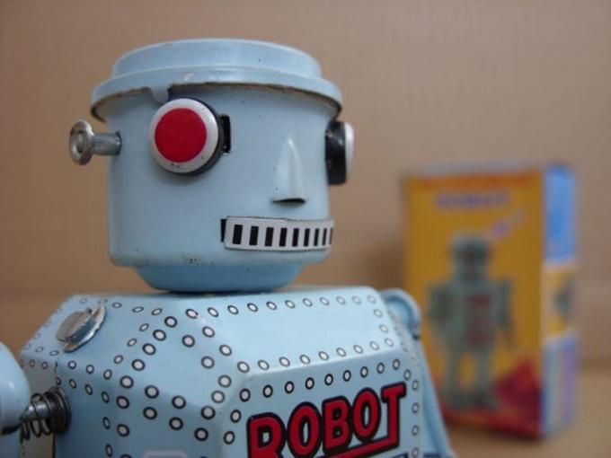 Фантасты изображают обычно роботов-андроидов