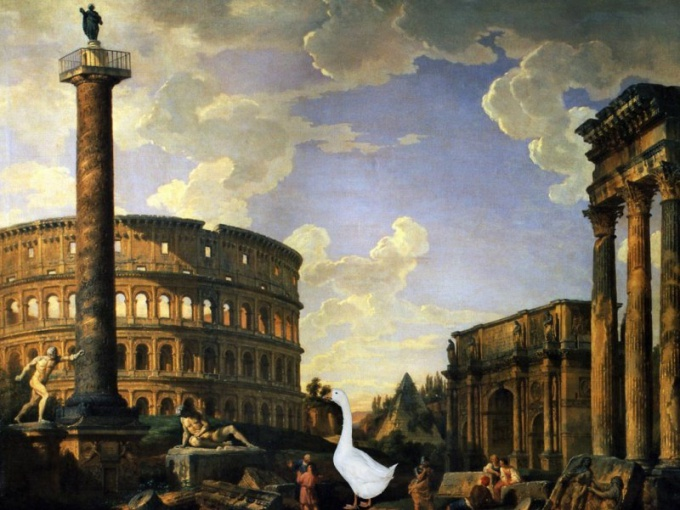 How the geese saved Rome