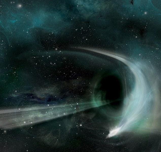 Как выглядит черная дыра