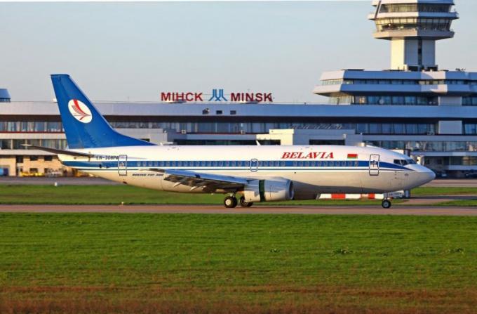 Как добраться в аэропорт Минска