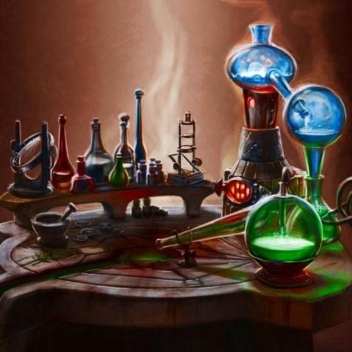 Как прокачать алхимию
