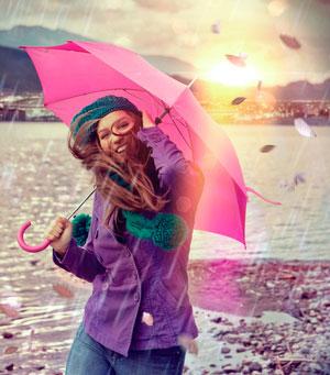 Как выбрать зонт.