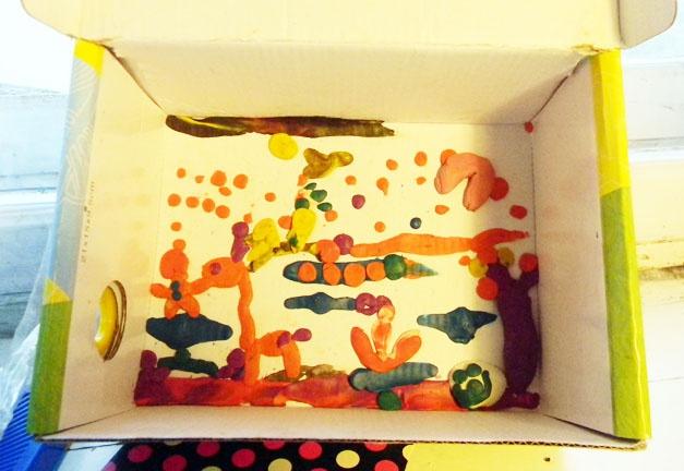 Детское творчество, пластилиновые картины