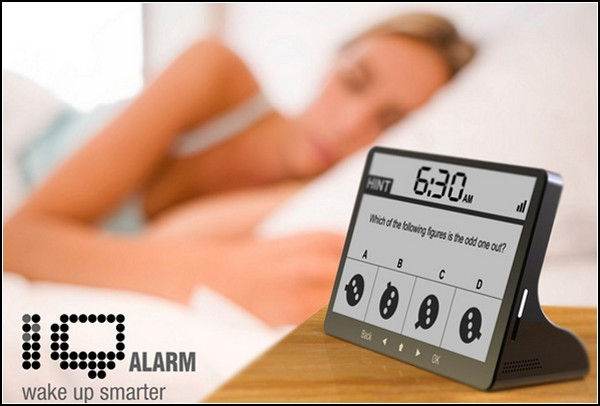 Поставьте будильник подальше от кровати