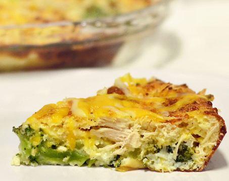 Как приготовить пирог с брокколи и курицей