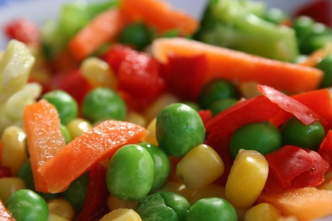 Продукты для иммунитета - цветные овощи