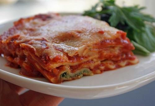 Рецепт приготовления вегетарианской лазаньи