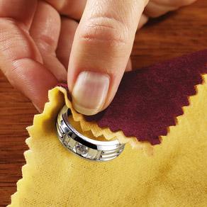 Как продлить жизнь украшениям - протирайте мягкой тканью