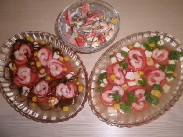 Как приготовить заливной салат