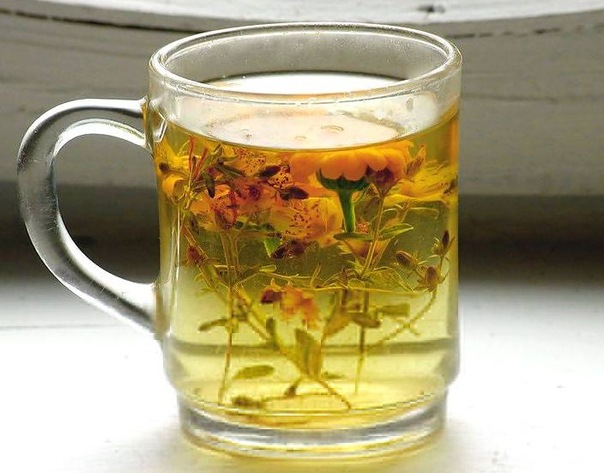 Herbal teas for weight loss - tea from corn silk