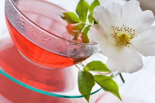 Травяные чаи для похудения - чай из шиповника