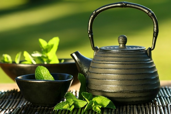 Herbal tea for weight loss - green tea