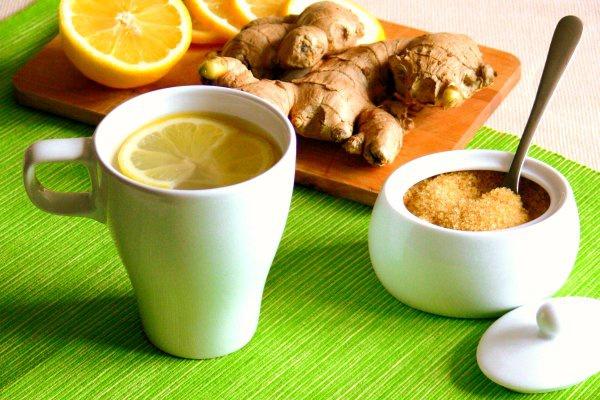Чай травяной для похудения - имбирный чай