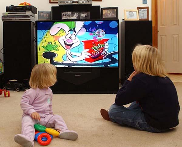 Как перевоспитать избалованного ребенка - ограничить телевизор