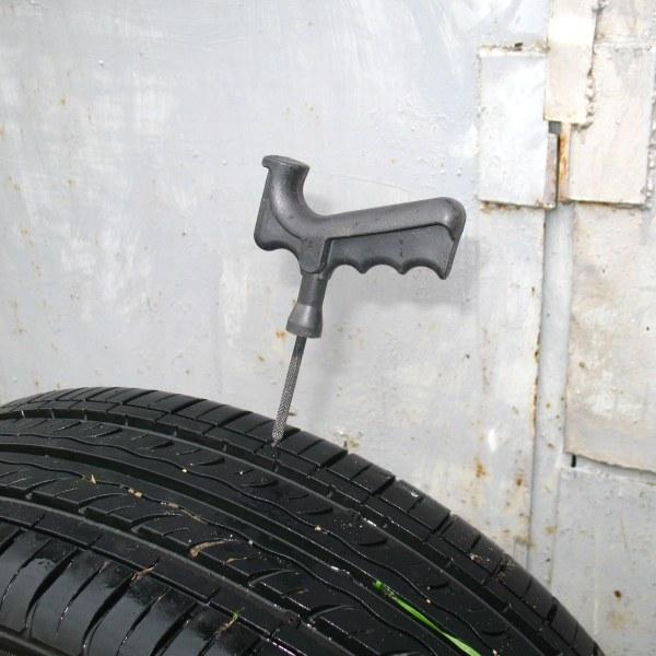 Как просто заклеить бескамерную шину