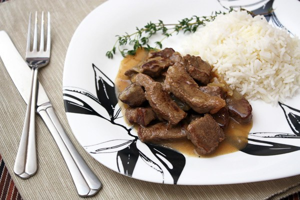 Как приготовить говядину в пивном соусе