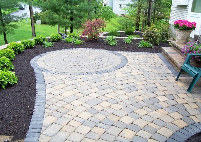 Laying paving in the country: do