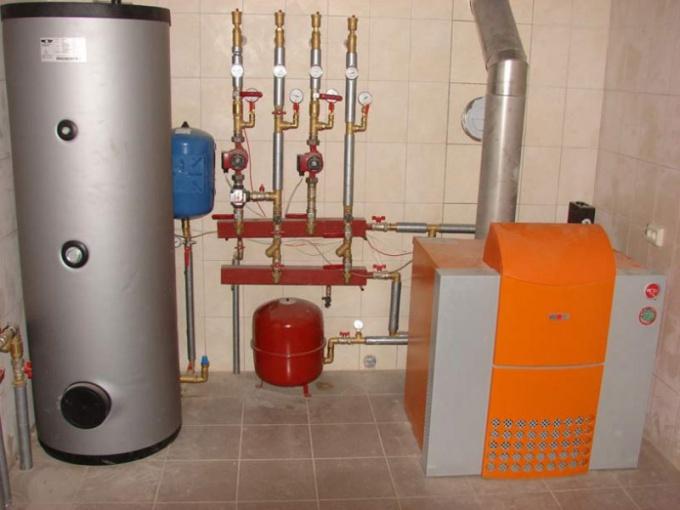 Газовые напольные котлы отопления