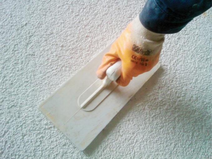 Нанесение фактурной штукатурки своими руками
