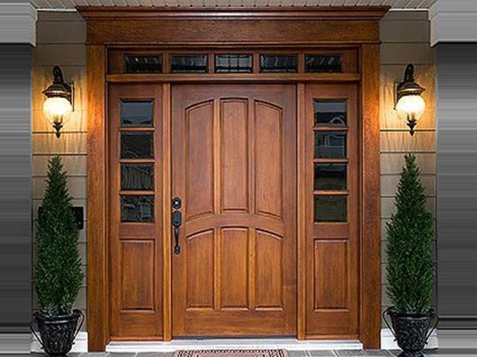 Технология установки входных дверей