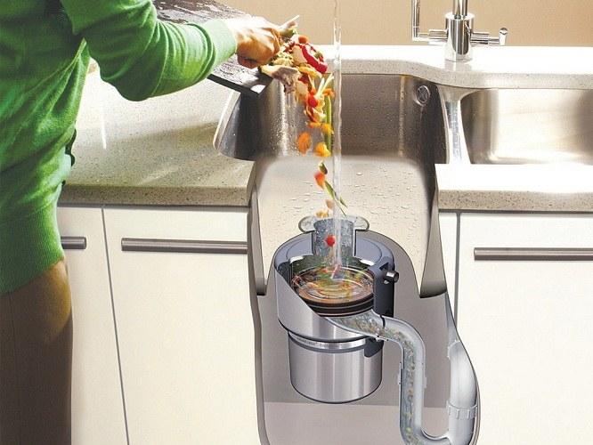Измельчитель пищевых отходов - удобный помощник