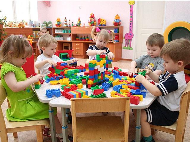 Принципы выбора мебели для детского сада
