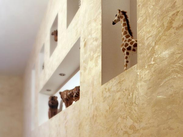 Decorative plaster: types, technology application
