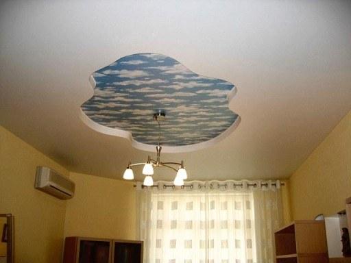 Натяжные потолки дома: за и против
