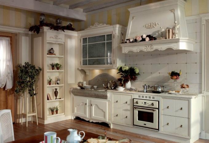 Кухня в стиле прованс отличается особым уютом