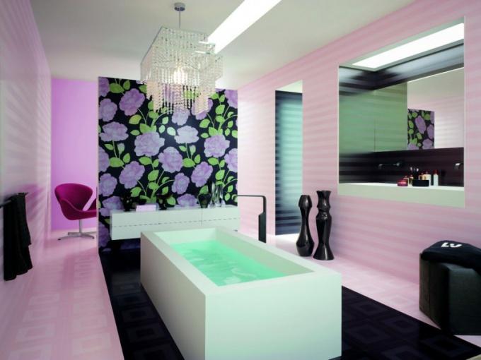 Панно украсит вашу ванную