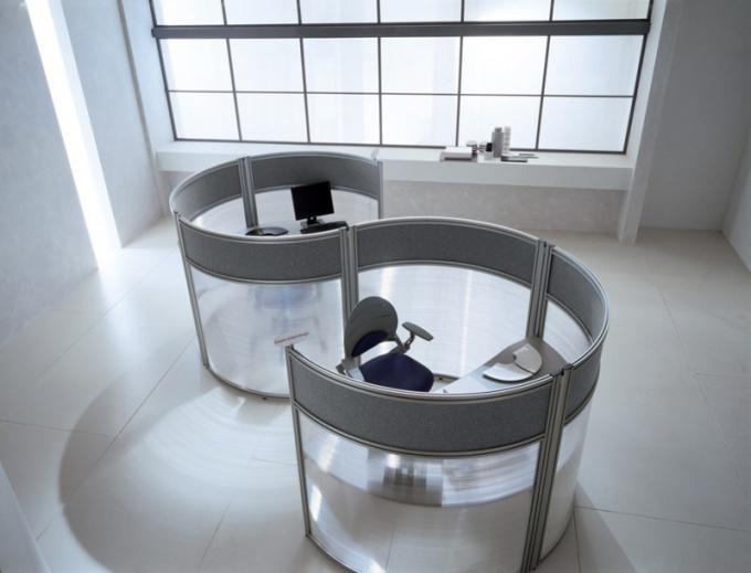 Офисные перегородки: виды, материалы, особенности монтажа