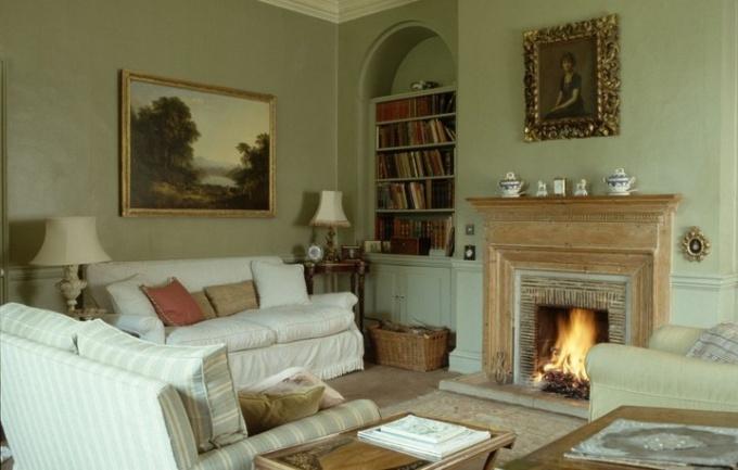 Дом в английском стиле - изысканность во всем