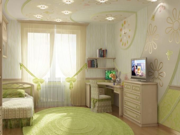 Интерьер детской комнаты с учетом детской психологии