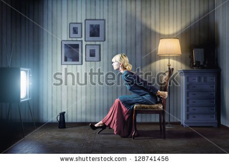 http://image.shutterstock.com/display_pic_with_logo/70890/128741456/stock-photo-young-woman-sitting-on-a-chair-in-vintage-interior-and-watching-retro-tv-she-is-very-astonished-128741456.jpg
