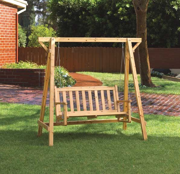How to make a garden swing