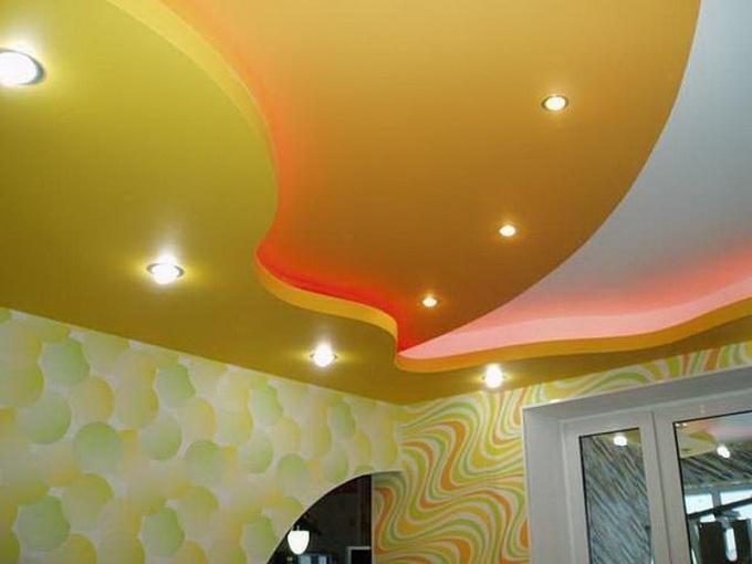 Как самому сделать многоуровневый потолок фото 725