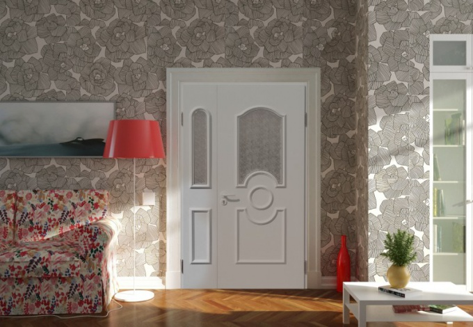 Plastic interior doors: choose apartment
