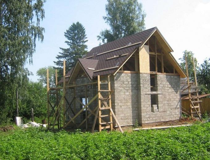 Этапы строительства домов из пеноблока