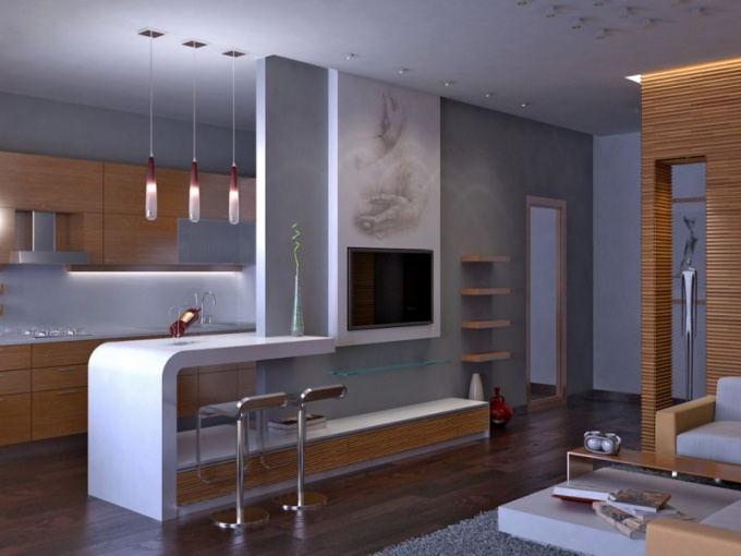 Design project one-bedroom apartments