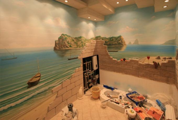 Способы декоративной росписи стен