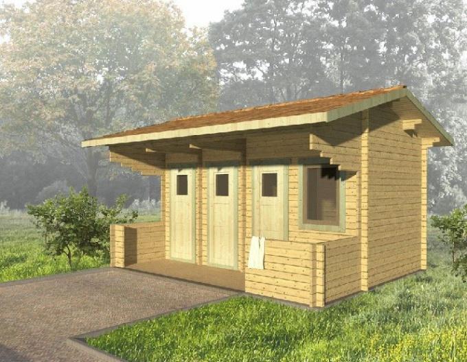 Строительство туалета и хозблока: вместе или отдельно?