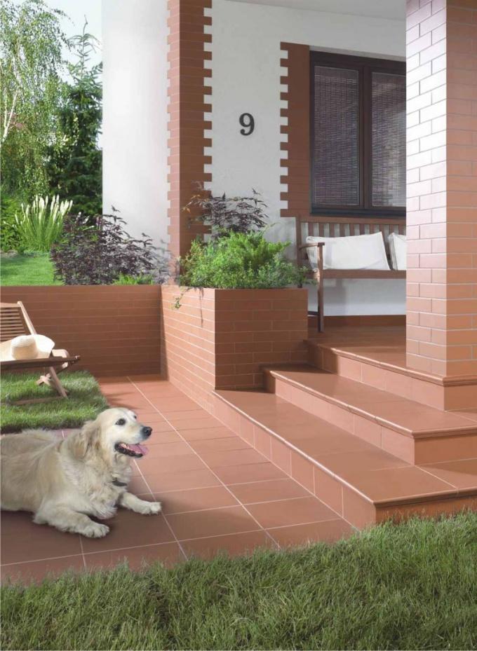 Плиточные керамические материалы для фасадной отделки
