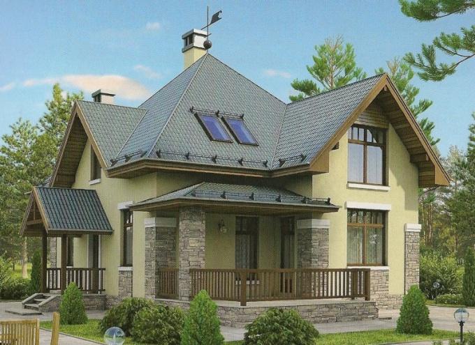 Недорогие проекты домов из газобетона и пеноблока