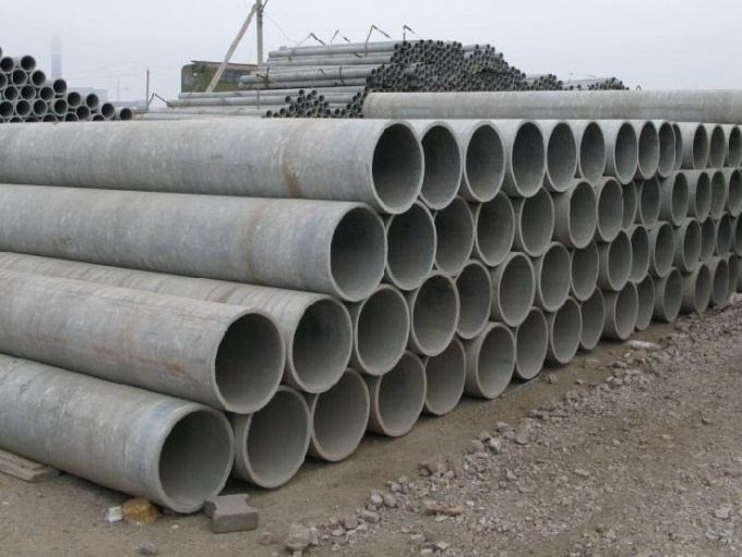 Chrysotile-cement pipes: types, installation, application and construction