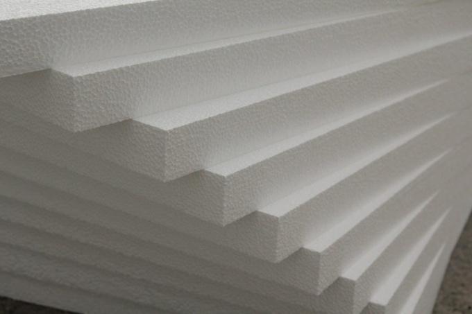 Пенополистирол - материал для утепления фасадов