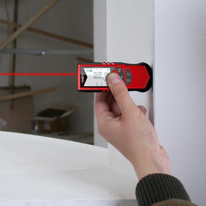 Лазерная рулетка как высокоточный измеритель