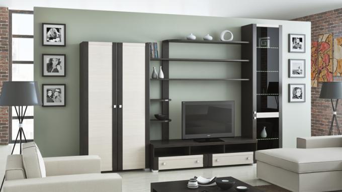Модульная мебель: достоинства, возможности, роль в интерьере