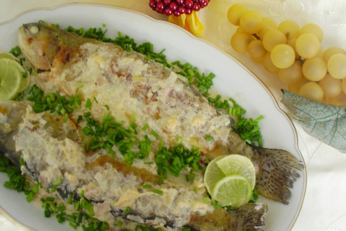 Bake cod in the oven