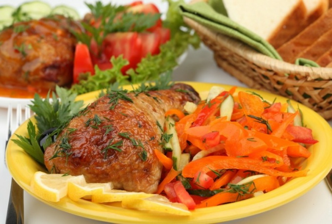 What is the perfect side dish to fish, meat, poultry